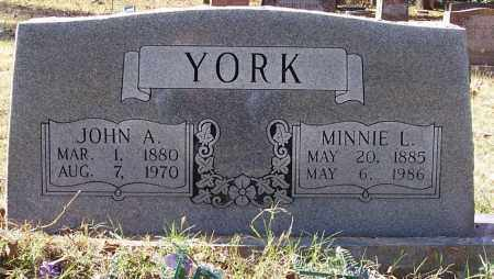 YORK, JOHN A. - Independence County, Arkansas | JOHN A. YORK - Arkansas Gravestone Photos