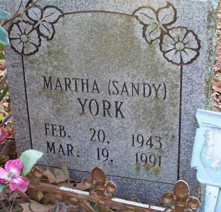 YORK, MARTHA SANDY - Independence County, Arkansas   MARTHA SANDY YORK - Arkansas Gravestone Photos