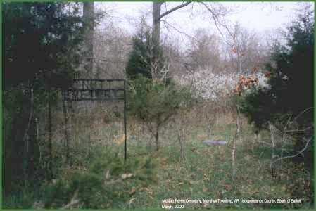 *MCNUTT-PERRIN CEMETERY SITE,  - Independence County, Arkansas |  *MCNUTT-PERRIN CEMETERY SITE - Arkansas Gravestone Photos