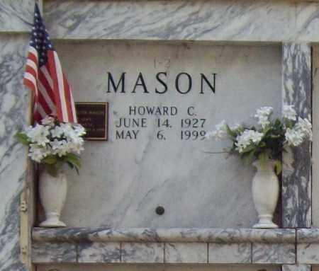 MASON  (VETERAN WWII), HOWARD C. - Independence County, Arkansas | HOWARD C. MASON  (VETERAN WWII) - Arkansas Gravestone Photos