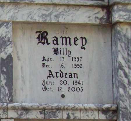 RAMEY, BILLY - Independence County, Arkansas | BILLY RAMEY - Arkansas Gravestone Photos