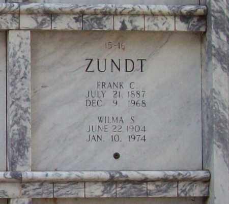 ZUNDT, WILMA C. - Independence County, Arkansas | WILMA C. ZUNDT - Arkansas Gravestone Photos