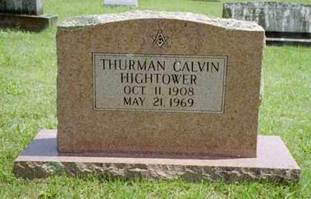 HIGHTOWER, THURMAN CALVIN - Izard County, Arkansas | THURMAN CALVIN HIGHTOWER - Arkansas Gravestone Photos