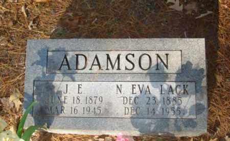 ADAMSON, J. E. - Izard County, Arkansas   J. E. ADAMSON - Arkansas Gravestone Photos