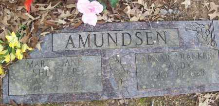 AMUNDSEN, MARY JANE - Izard County, Arkansas | MARY JANE AMUNDSEN - Arkansas Gravestone Photos