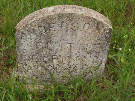 ANDERSON, BETTIE - Izard County, Arkansas | BETTIE ANDERSON - Arkansas Gravestone Photos