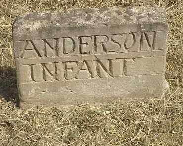 ANDERSON, INFANT - Izard County, Arkansas | INFANT ANDERSON - Arkansas Gravestone Photos