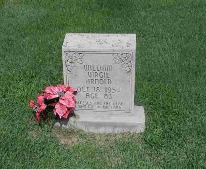 ARNOLD, WILLIAM VIRGIL - Izard County, Arkansas | WILLIAM VIRGIL ARNOLD - Arkansas Gravestone Photos