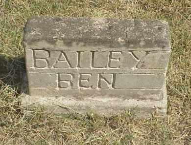BAILEY, BEN - Izard County, Arkansas   BEN BAILEY - Arkansas Gravestone Photos