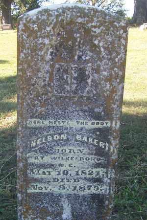 BAKER, NELSON - Izard County, Arkansas   NELSON BAKER - Arkansas Gravestone Photos