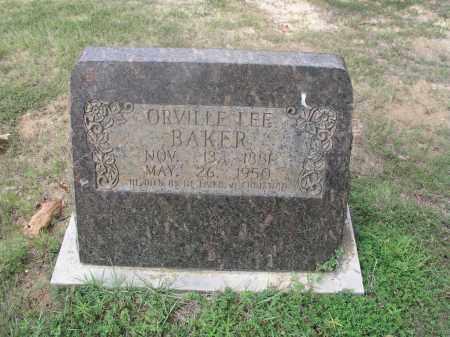 BAKER, ORVILLE LEE - Izard County, Arkansas | ORVILLE LEE BAKER - Arkansas Gravestone Photos