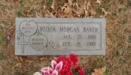 BAKER, REQUA - Izard County, Arkansas | REQUA BAKER - Arkansas Gravestone Photos