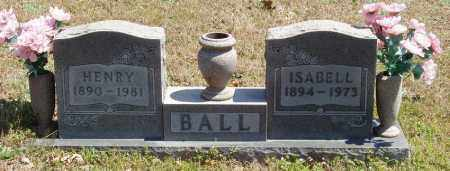 BALL, HENRY - Izard County, Arkansas | HENRY BALL - Arkansas Gravestone Photos