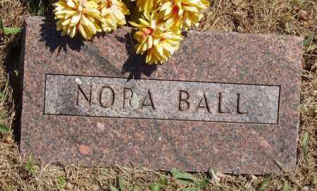 BALL, NORA - Izard County, Arkansas   NORA BALL - Arkansas Gravestone Photos