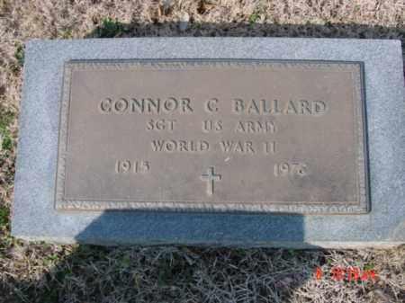 BALLARD  (VETERAN WWII), CONNOR C - Izard County, Arkansas | CONNOR C BALLARD  (VETERAN WWII) - Arkansas Gravestone Photos