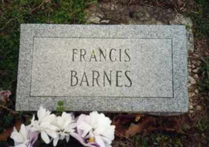 BARNES, FRANCIS - Izard County, Arkansas | FRANCIS BARNES - Arkansas Gravestone Photos