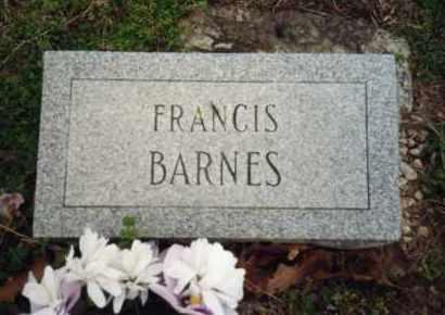 SAMPLES BARNES, FRANCIS - Izard County, Arkansas | FRANCIS SAMPLES BARNES - Arkansas Gravestone Photos