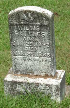 BATTLES, WILLIS - Izard County, Arkansas | WILLIS BATTLES - Arkansas Gravestone Photos