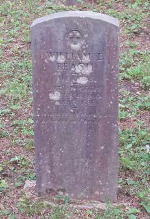 BEACH  (VETERAN), WILLIAM E - Izard County, Arkansas | WILLIAM E BEACH  (VETERAN) - Arkansas Gravestone Photos