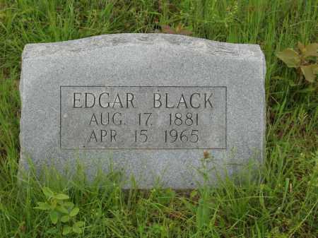 BLACK, EDGAR - Izard County, Arkansas   EDGAR BLACK - Arkansas Gravestone Photos