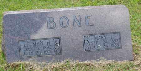 BONE, MARY TENNESSEE - Izard County, Arkansas | MARY TENNESSEE BONE - Arkansas Gravestone Photos