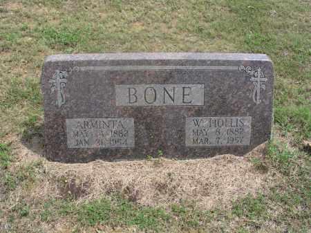 BONE, WILLIAM HOLLIS - Izard County, Arkansas | WILLIAM HOLLIS BONE - Arkansas Gravestone Photos
