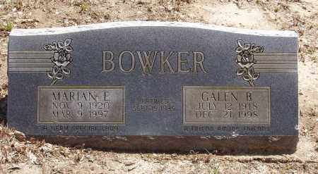 BOWKER, MARIAN EMMA - Izard County, Arkansas | MARIAN EMMA BOWKER - Arkansas Gravestone Photos