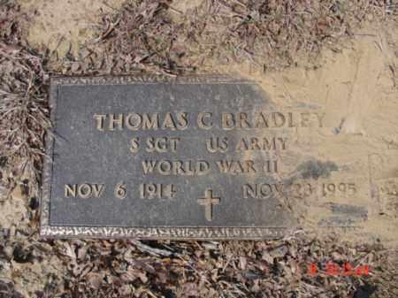 BRADLEY  (VETERAN WWII), THOMAS C - Izard County, Arkansas | THOMAS C BRADLEY  (VETERAN WWII) - Arkansas Gravestone Photos