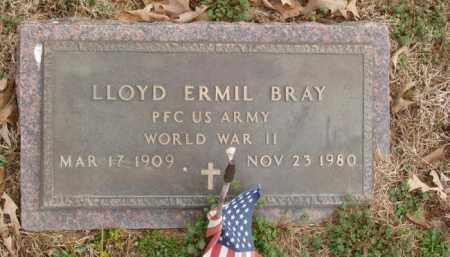 BRAY  (VETERAN WWII), LLOYD ERMIL - Izard County, Arkansas | LLOYD ERMIL BRAY  (VETERAN WWII) - Arkansas Gravestone Photos