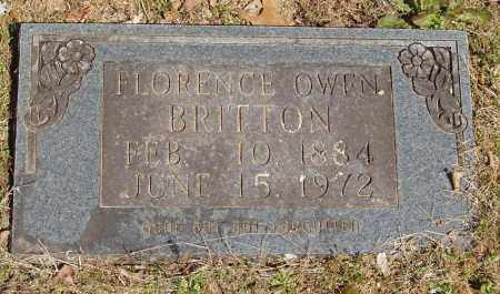 BRITTON, FLORENCE - Izard County, Arkansas | FLORENCE BRITTON - Arkansas Gravestone Photos