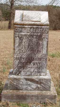 BROCKWAY, MARY ELIZABETH - Izard County, Arkansas | MARY ELIZABETH BROCKWAY - Arkansas Gravestone Photos