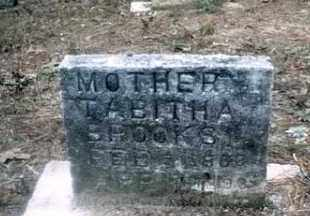 BROOKS, TABITHA - Izard County, Arkansas | TABITHA BROOKS - Arkansas Gravestone Photos