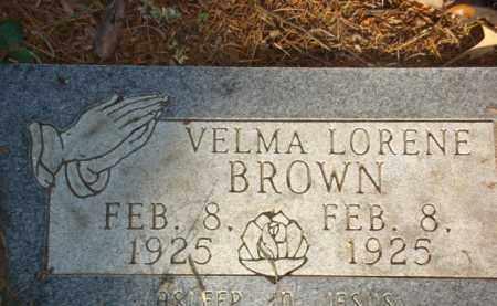 BROWN, VELMA LORENE - Izard County, Arkansas | VELMA LORENE BROWN - Arkansas Gravestone Photos