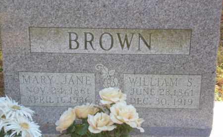 BROWN, MARY JANE - Izard County, Arkansas | MARY JANE BROWN - Arkansas Gravestone Photos