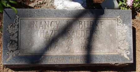 BURKE, NANCY L - Izard County, Arkansas | NANCY L BURKE - Arkansas Gravestone Photos