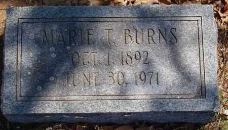 LAUTERBACH BURNS, MARIE T - Izard County, Arkansas   MARIE T LAUTERBACH BURNS - Arkansas Gravestone Photos