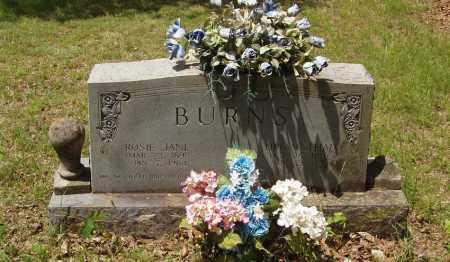 BURNS, ROSIE JANE - Izard County, Arkansas   ROSIE JANE BURNS - Arkansas Gravestone Photos