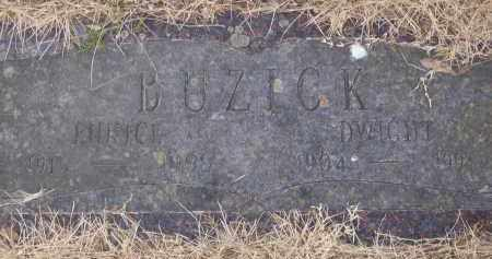 BUZICK, EUNICE - Izard County, Arkansas | EUNICE BUZICK - Arkansas Gravestone Photos