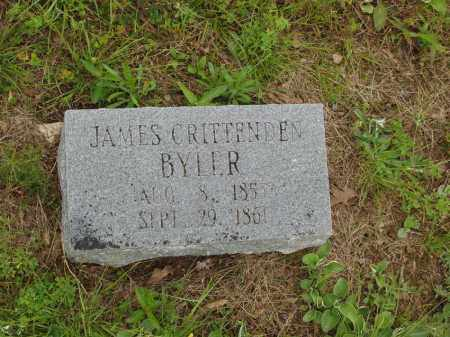 BYLER, JAMES CRITTENDEN - Izard County, Arkansas   JAMES CRITTENDEN BYLER - Arkansas Gravestone Photos