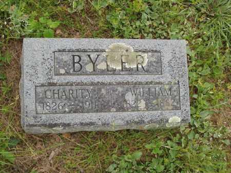 WREN BYLER, CHARITY - Izard County, Arkansas | CHARITY WREN BYLER - Arkansas Gravestone Photos