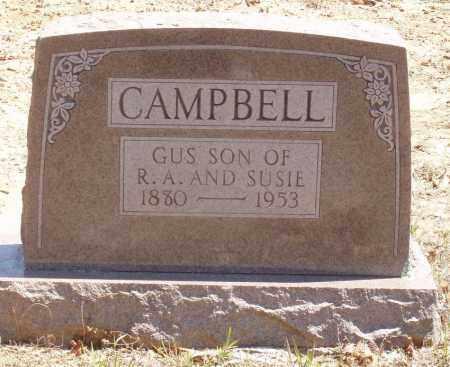 CAMPBELL, GUS - Izard County, Arkansas | GUS CAMPBELL - Arkansas Gravestone Photos