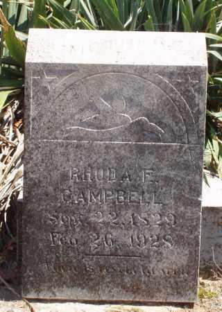 KING CAMPBELL, RHODA E - Izard County, Arkansas | RHODA E KING CAMPBELL - Arkansas Gravestone Photos