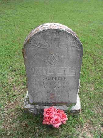 CAMPBELL, WILLIE - Izard County, Arkansas | WILLIE CAMPBELL - Arkansas Gravestone Photos