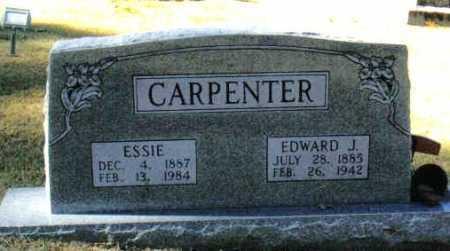 MC CLAIN CARPENTER, CORA ESSIE - Izard County, Arkansas | CORA ESSIE MC CLAIN CARPENTER - Arkansas Gravestone Photos