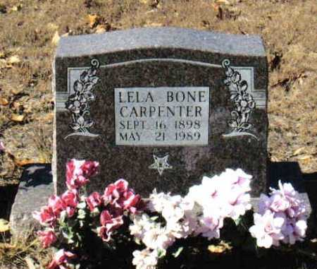 CARPENTER, LELA - Izard County, Arkansas | LELA CARPENTER - Arkansas Gravestone Photos