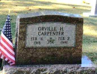 CARPENTER, ORVILLE H - Izard County, Arkansas | ORVILLE H CARPENTER - Arkansas Gravestone Photos