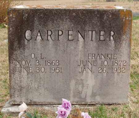 CARPENTER, FRANKIE - Izard County, Arkansas | FRANKIE CARPENTER - Arkansas Gravestone Photos