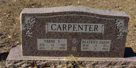 CARPENTER, VERNE ELFORD - Izard County, Arkansas | VERNE ELFORD CARPENTER - Arkansas Gravestone Photos