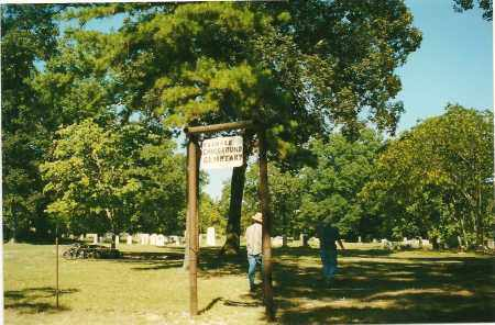 *SIGN AND OVERVIEW,  - Izard County, Arkansas |  *SIGN AND OVERVIEW - Arkansas Gravestone Photos