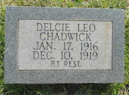 CHADWICK, DELCIE LEO - Izard County, Arkansas | DELCIE LEO CHADWICK - Arkansas Gravestone Photos